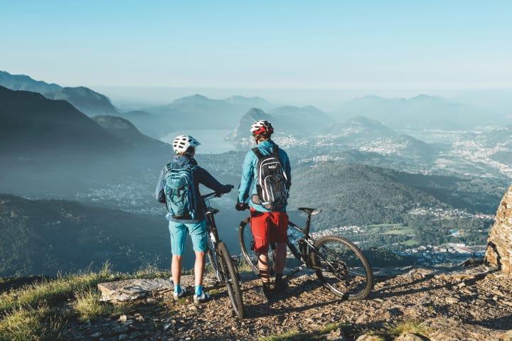 Mountainbiken im Tessin. Copyright: Schweiz Tourismus / Stephan Schacher