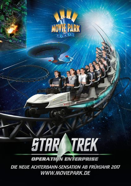 Bild: Movie Park Germany / Star Trek: ™ & © 2017 CBS Studios Inc. STAR TREK and related marks and logos are trademarks of CBS Studios Inc. All Rights Reserved.