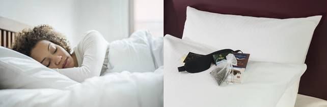 Ab dem Weltschlaftag: Neues Bettenkonzept bei Mövenpick Hotels & Resorts. Bild: Mövenpick