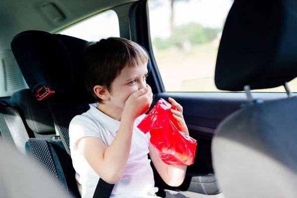 Dazu muss es nicht kommen - die besten Tipps gegen Übelkeit im Auto. Foto: dtd/thx