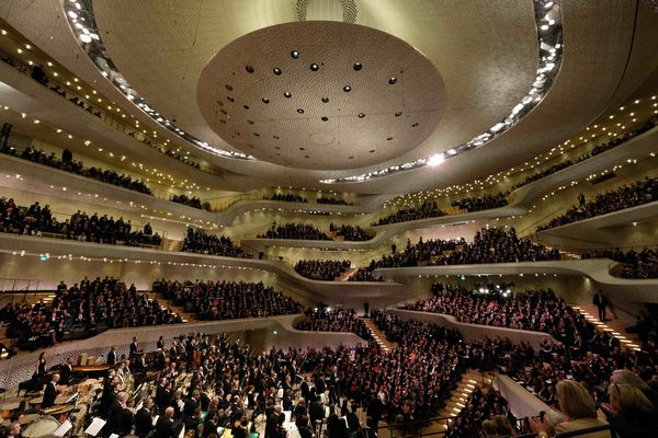 Großer Saal Elbphilharmonie Hamburg, Foto: Michael Zapf