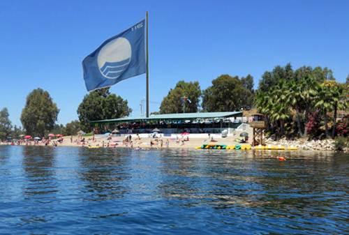 Die Blaue Flagge weht 579 mal über spanischen Ständen. Bild: Ferienwohnungen Spanien