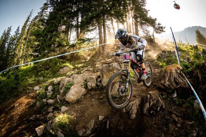 UCI Mountainbike World Cup Lenzerheide. Bild: Graubünden Ferien/Lenzerheide