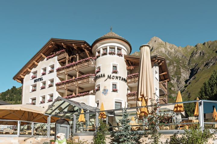 Hotel Chasa Montana - Gesundheitsregion Engadin Scuol Samnaun Val Müstair. Bild (c) Alexander Maria Lohmann