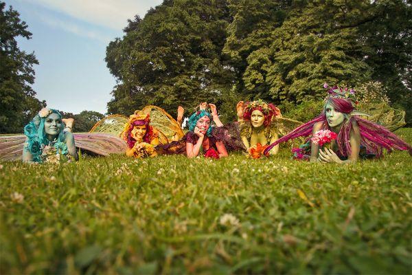 Am Fuße des Brockens treffen sich faszinierende Wesen auf dem Fantasy-Festival. Foto: djd/Wernigerode Tourismus/MMerlin Noack/Model: Hammerflausch