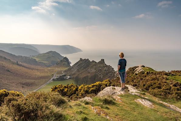 Blick über das Valley of Rocks - Bild (c) Visit Britain / Robert Small