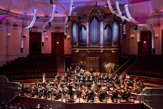 Konzert im Concertgebouw, Foto Simon van Boxtel