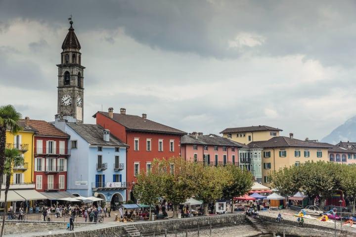 Herbstfest in Ascona. © Schweiz Tourismus/Jan Geerk