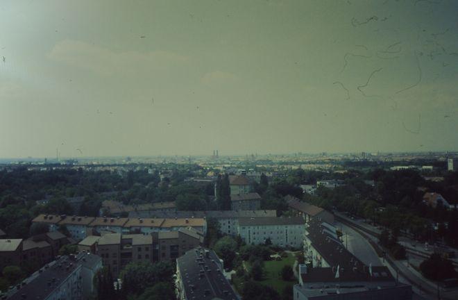 Ausblick über München.