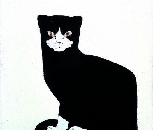 Bart van der Leck, Die Katze, 1914, Kröller-Müller Museum