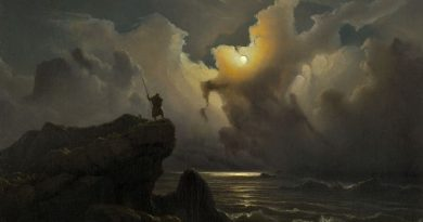 Knud Baade, Szene aus der Ära der norwegischen Sagen, 1850, Sammlung Asbjorn Lunde, New York