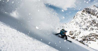 Freerider am Mettelhorn, Zermatt (Wallis). Bild: Schweiz Tourismus