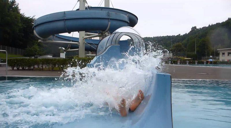 Freibad Mettlach - Riesenrutsche Onride