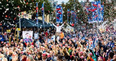 Leeuwarden präsentierte am 3. Oktober feierlich das Programm 2018. Foto: Ruben van Vliet