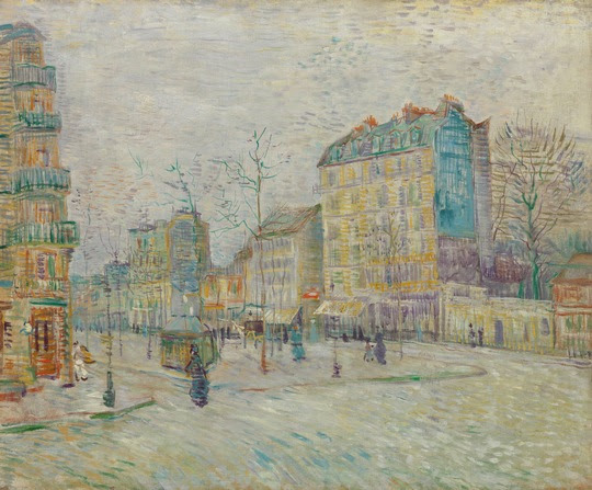 Vincent van Gogh, Boulevard de Clichy, 1887, Van Gogh Museum Amsterdam