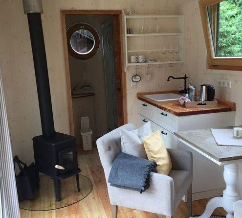 Raum ist in der kleinsten Hütte. Bild: max.pr / Historische Mühle Vogelsang