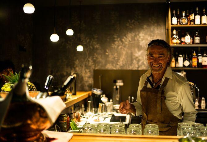 Die neue Bar im Hotel Post. Bild (c) Hotel Post