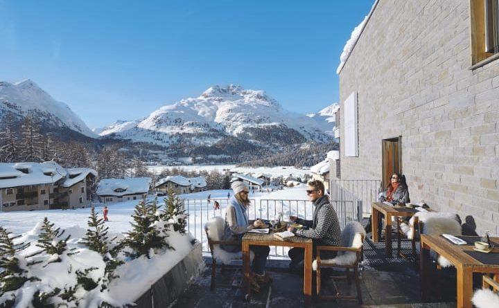 Das Nira Alpina in Silvaplana, Graubünden. Bild: Schweiz Tourismus