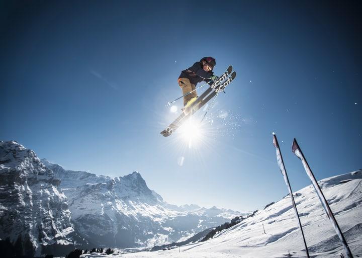 White Elements Snowpark. Bild: Jungfrau Bahnen