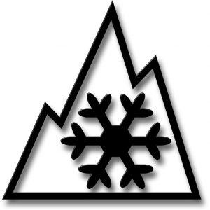 Vollwertige Winterreifen tragen das Alpine-Symbol auf der Reifenflanke. Foto: djd/Continental