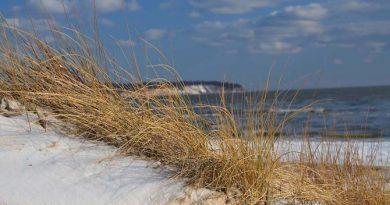 Menschenleer und sturmgepeitscht - für wetterfeste Spaziergänger zeigt sich der Ostseestrand jetzt von seiner schönsten Seite. Foto: djd/www.seepark-sellin.de
