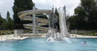 Freibad Sinsheim - Riesenrutsche Onride