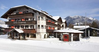 Das Hotel Zugspitze in Garmisch-Partenkirchen. Bild: Hotel Zugspitze