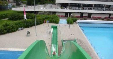 Inselbad Landsberg am Lech - Freefall Speed-Rutsche Onride