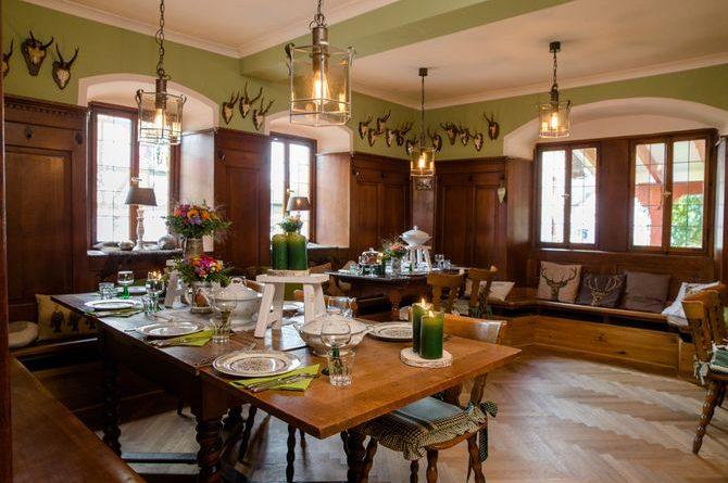 Eigenes Wohnzimmer, Gaststube, Küche und Hof: Der Hubertushof. Bild: Markus Püttmann