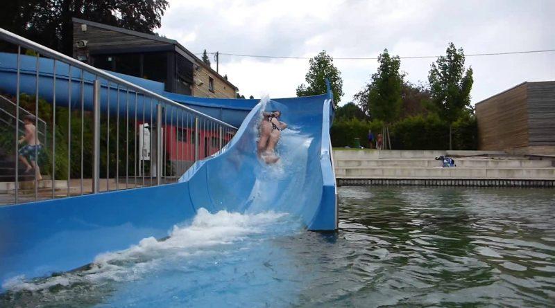 Naturbad Heilborn Merzig - Riesenrutsche Onride