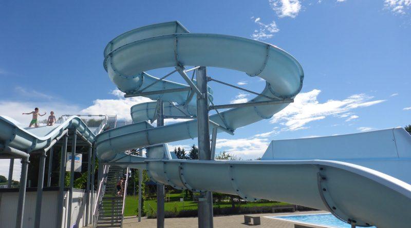 Schwimmbad Hörnli Kreuzlingen - offene Rutsche Onride
