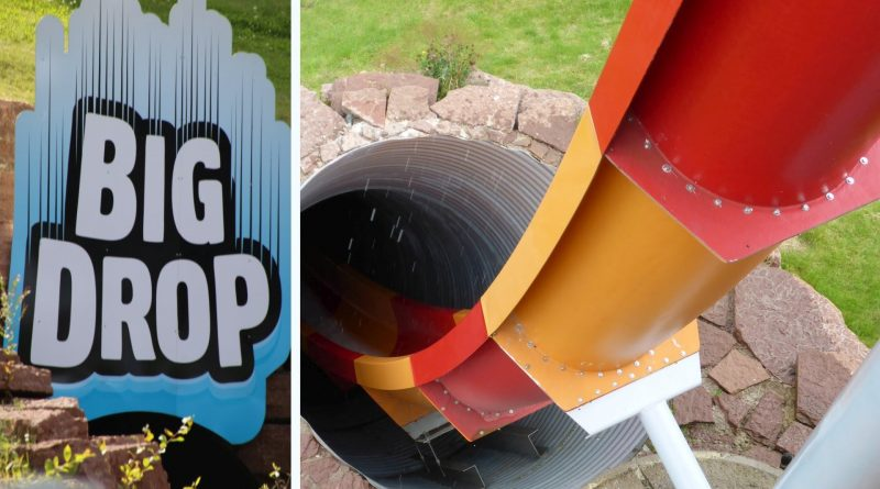 Big Drop - Kamikaze-Rutsche :: Free Fall Slide | Skara Sommarland