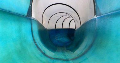 blaue Riesenrutsche | WellenBerg Oberammergau