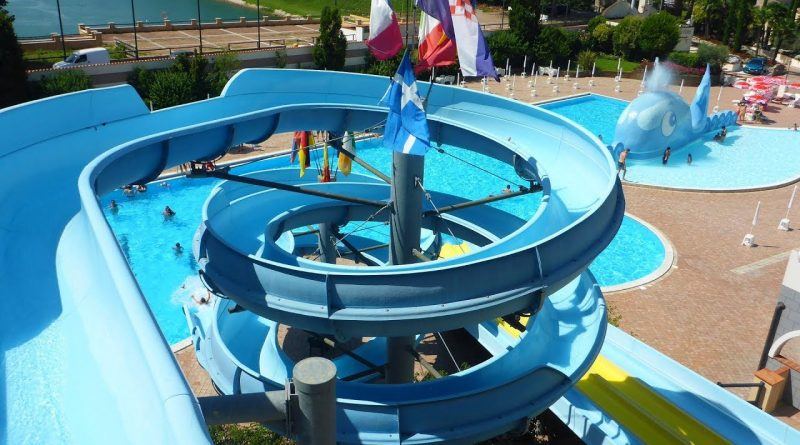 Toboga :: offene Riesenrutsche | Le Vele Acquapark San Gervasio Bresciano
