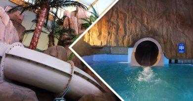Chute grotte :: dunkle Röhrenrutsche | Aquaparc Le Bouveret