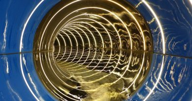 Röhrenrutsche mit Infinity Jump :: Black Hole   Hotel Schneeberg Ridnaun