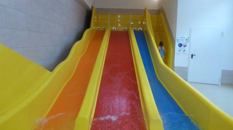 Triple Slide :: dreibahnige Kinder-Rutsche | Alpamare Pfäffikon