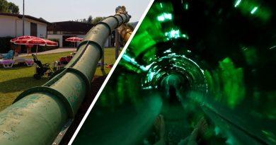 Treccia Twister (grün) :: Twin-Turborutsche | Acquasplash Franciacorta Corte Franca