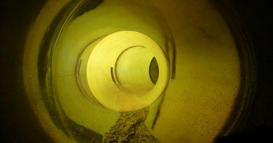 Das Blau St. Ingbert - Black Hole Röhrenrutsche Onride