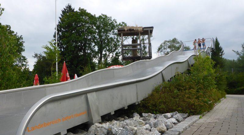 Edelstahl-Breitrutsche | Plantsch Schongau (Freibad)