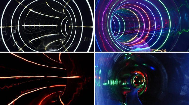 Black Hole Effekt-Rutsche :: Interactive Slide | Freizeitbad De Bütt Willich