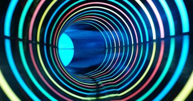 blaue Reifenrutsche :: Daylight Effect Slide | Aquafun Soest
