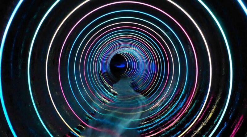 blaue Röhrenrutsche | Bademaxx Speyer