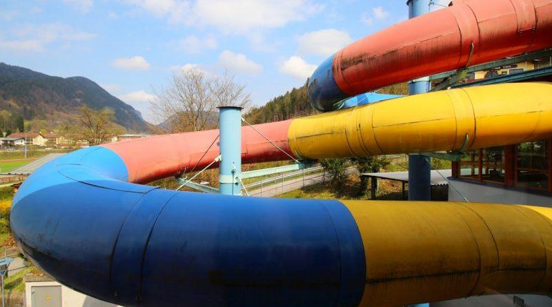 Black Hole Röhrenrutsche :: Rutsche mit Zeitmessung | Watzmann-Therme Berchtesgaden