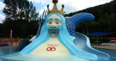 Neptun-Kinderrutsche :: Rutschenberg | Freibad Ilmenau