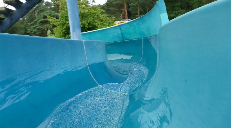 offene Riesenrutsche :: Freibad-Rutsche | Waldbad Hilden
