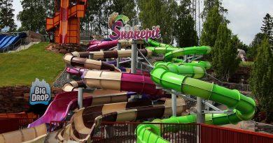 Snakepit Schlangenrutschen :: Alle Rutschen | Skara Sommarland NEU 2016