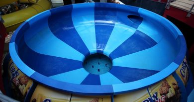 Space Bowl :: Trichterrutsche | Aquapalace Prag