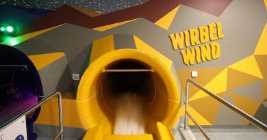 Wirbelwind Trichterrutsche :: Cone Slide | Säntispark Abtwil [NEU 2016]
