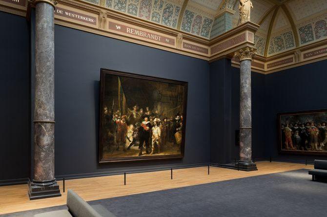 """Die """"Nachtwache"""" von Rembrandt im Rijksmuseum. Quelle: NBTC"""